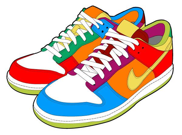 Nike Running Shoes Clipart Clipart Panda-Nike Running Shoes Clipart Clipart Panda Free Clipart Images-6