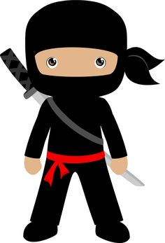 Ninja cliparts. graphics