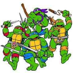 Ninja Turtles Clip Art ..