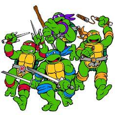 Ninja Turtles Clip Art ..