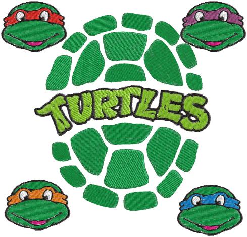 Ninja Turtles Font u0026middot; Ninja Turtle Clipart