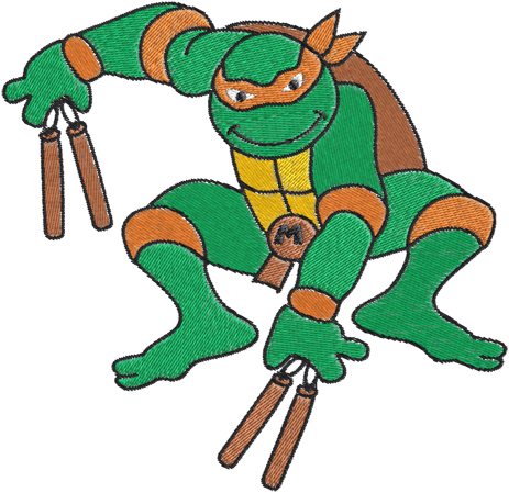 Ninja Turtles Clip Art