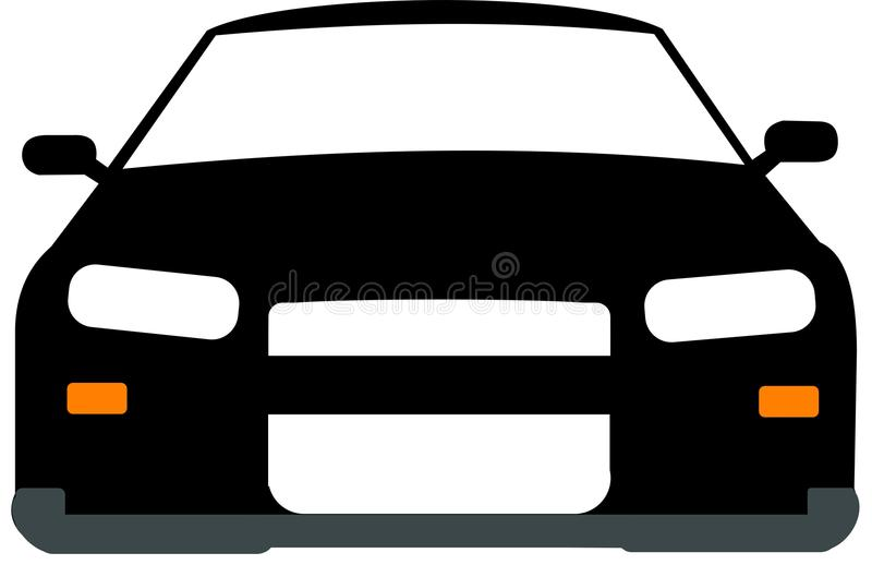 Black and white 2d car (Nissan Skyline)-Black and white 2d car (Nissan Skyline)-2