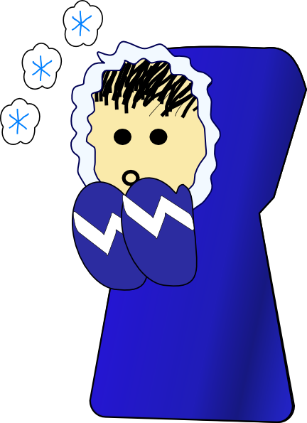Nlyl Cold Kid Clip Art At Clker Com Vector Clip Art Online Royalty