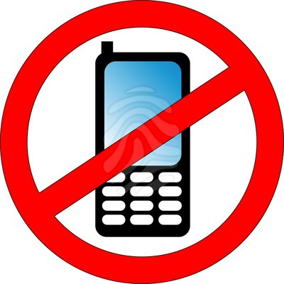 no cell phone clipart-no cell phone clipart-11