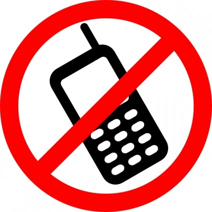 No Cell Phones Allowed Clip Art Vector C-No Cell Phones Allowed clip art Vector clip art - Free vector for-5