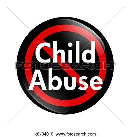 No Child Abuse Button-No Child Abuse button-13
