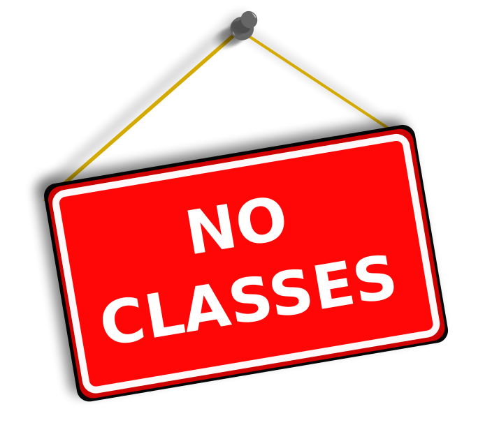 No Classes Sign Http Www Wpclipart Com Education Signs More Signs
