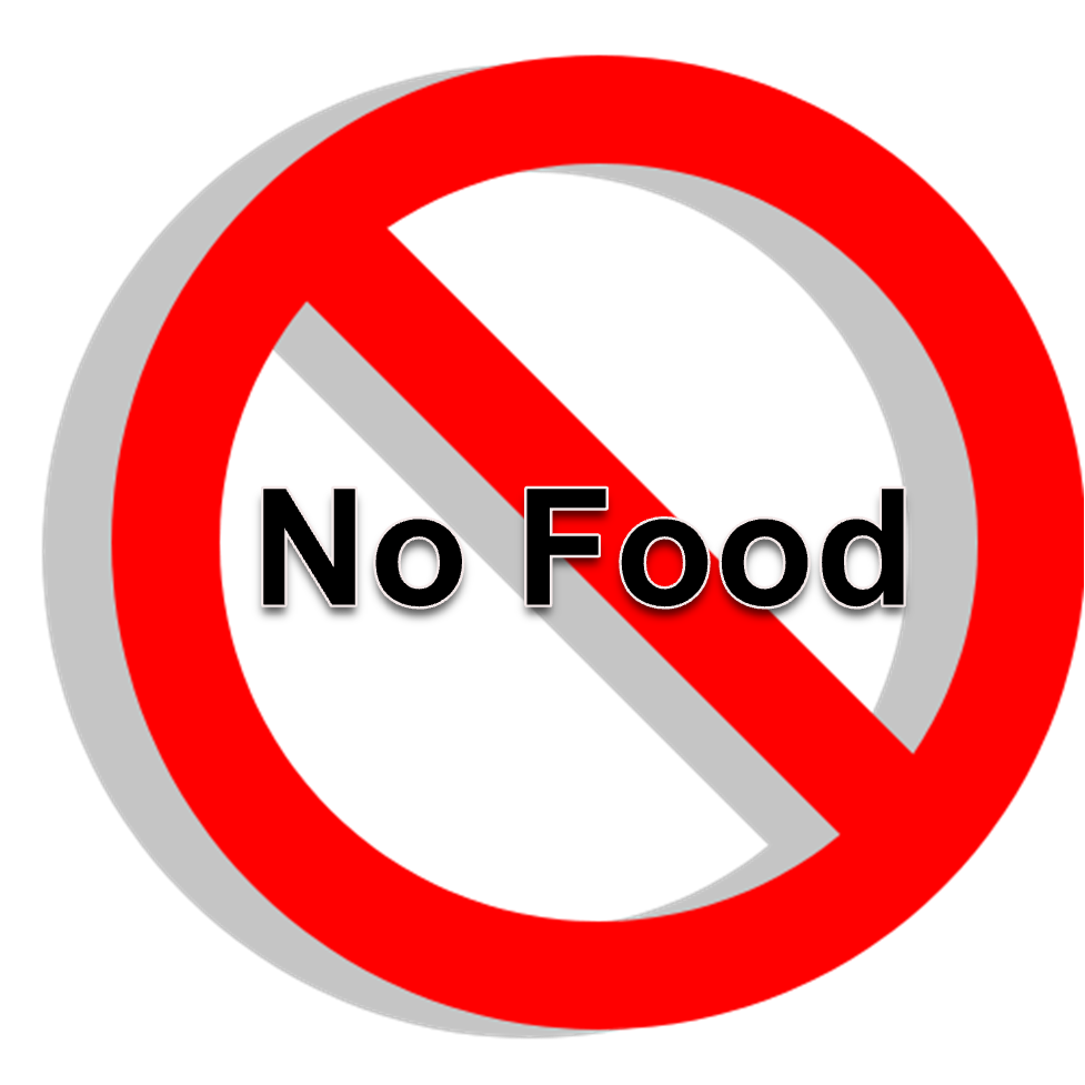 No Food Or Drink Clipart Cliparts Co