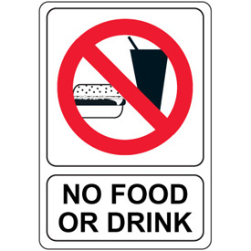 ... No Food Or Drink Signs ...