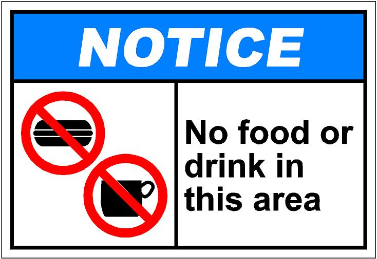... No food or drinks clipart ...