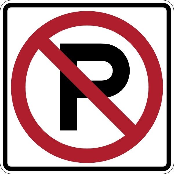 No Parking Sign clip art-No Parking Sign clip art-7