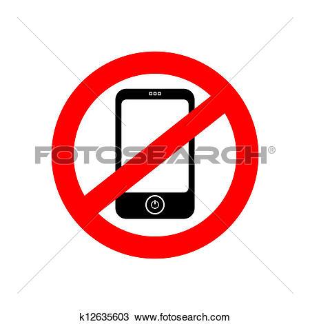 No phone vector sign-No phone vector sign-10