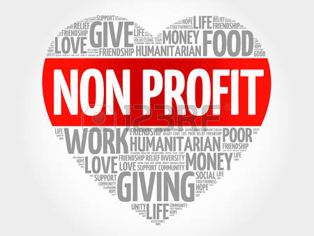 Non Profit word cloud, heart concept-Non Profit word cloud, heart concept-8