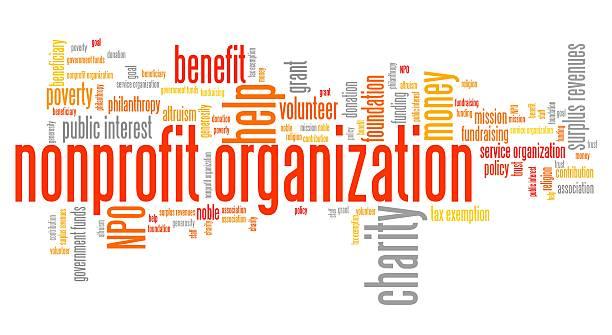 Nonprofit organization vector art illustration