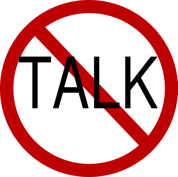 No Talk Clip Art At Clker Com Vector Clip Art Online Royalty Free