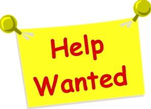 Nonprofit Job Postings . - Help Wanted Clipart