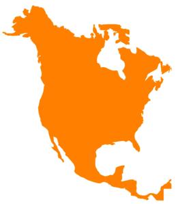 North America Map Clip Art-North America Map Clip Art-16