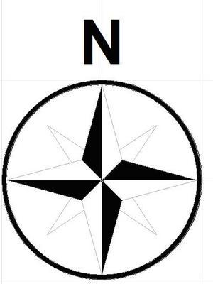 North Arrow Clip Art ..-North Arrow Clip Art ..-6