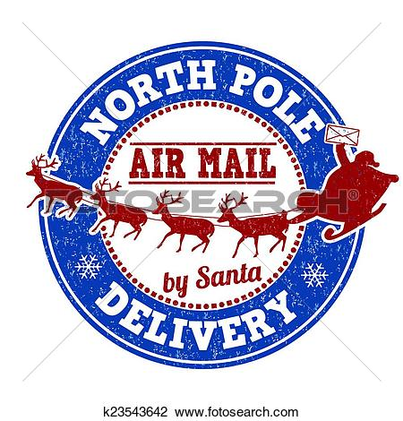 North Pole Delivery Stamp-North Pole delivery stamp-8