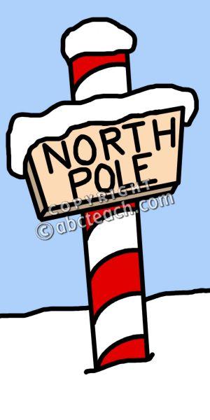 North Pole Sign Clip Art ..