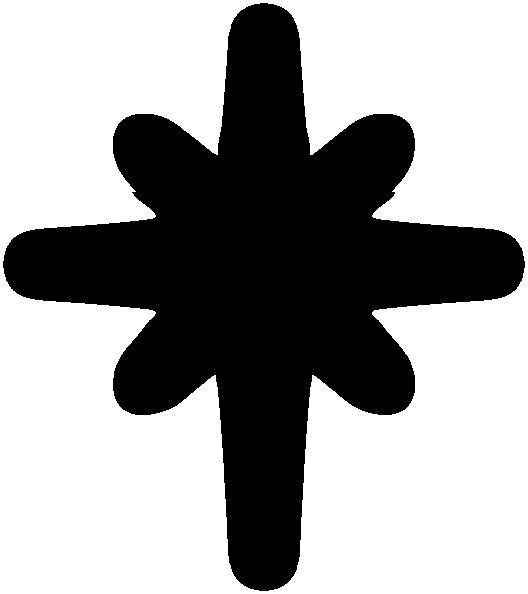 North Star Solid Black Clip Art At Clker-North Star Solid Black Clip Art At Clker Com Vector Clip Art Online-12