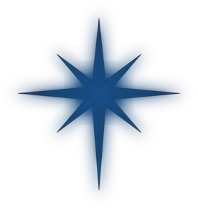 North Star Solid Blue Clip Art-North Star Solid Blue Clip Art-9