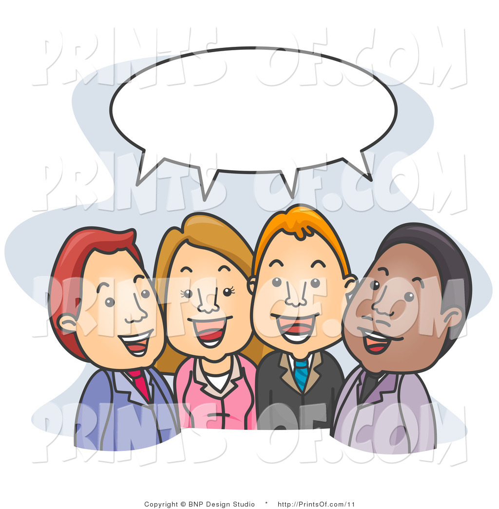 Not People Talking Clipart #1