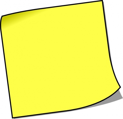 note clipart