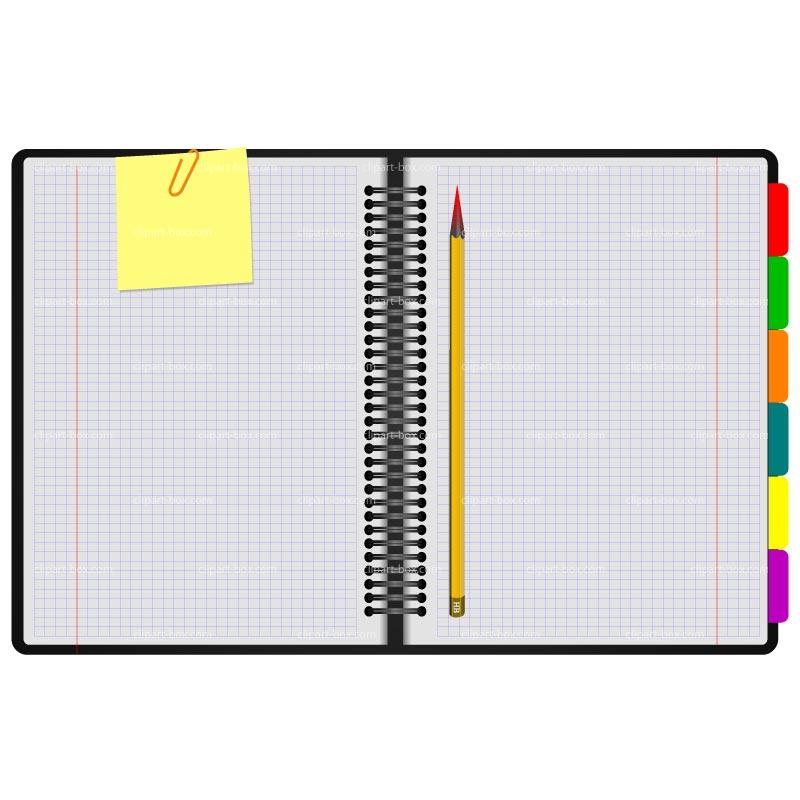 notebook paper clipart - Notebook Paper Clip Art
