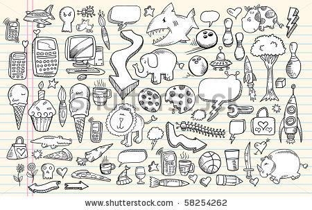 Notebook Doodle Clip Art ..-Notebook Doodle Clip Art ..-17