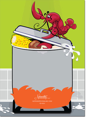 Noteworthy Collections Invitations Crawfish Boil More Than Paper