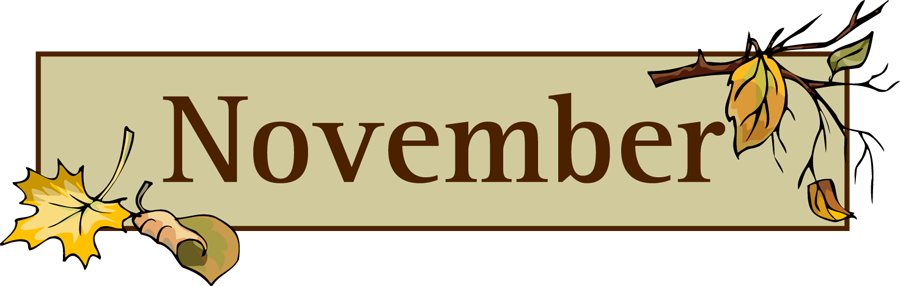 November Birthday Clipart Nov - November Clipart