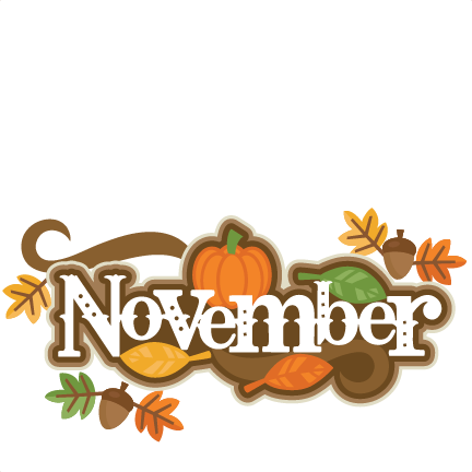 November Clip Art Borders