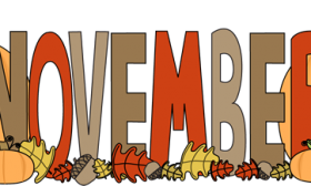 November free clip art - ClipartFox