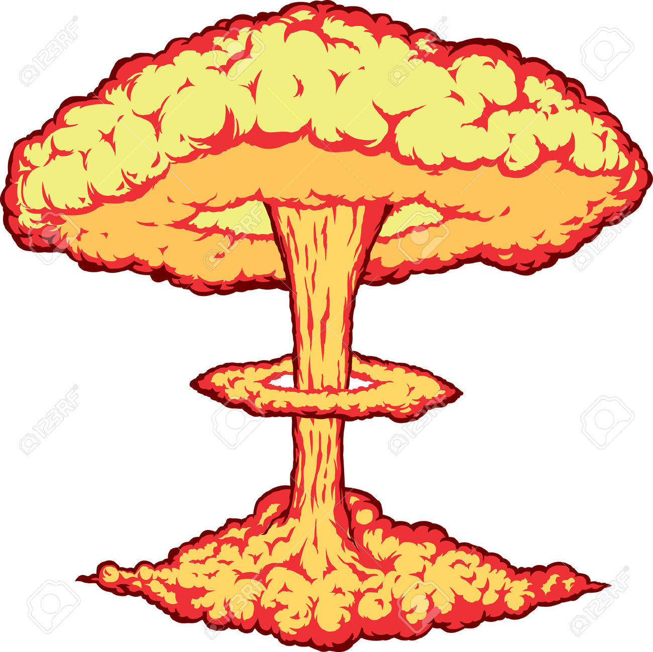 Nuclear Explosion Clipart-Nuclear explosion clipart-18