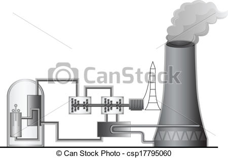 ... Nuclear Power Plant - Illustration o-... Nuclear Power Plant - Illustration of the Nuclear Power.-19