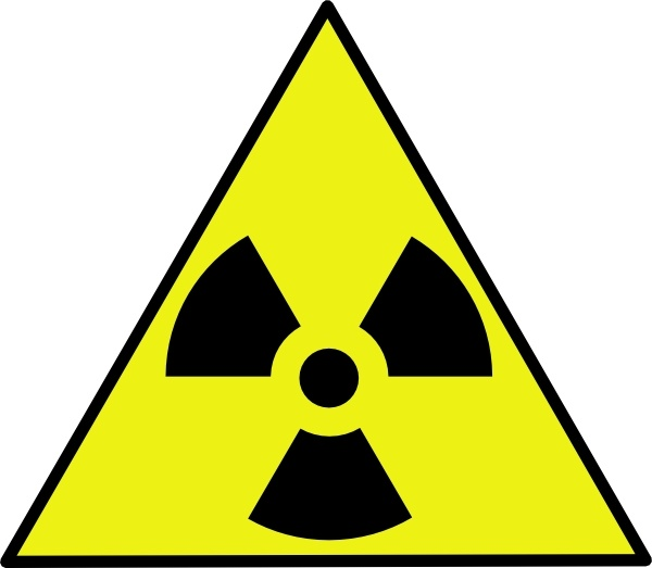 Nuclear Zone Warning Sign Clip Art-Nuclear Zone Warning Sign clip art-16