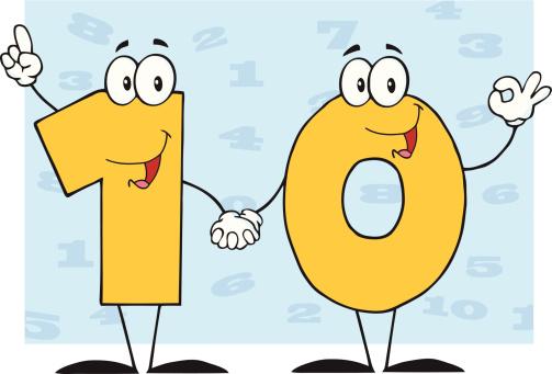 number 10. number 10 clip art - Number 10 Clipart