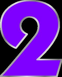 Number 2 Clip Art-Number 2 Clip Art-7