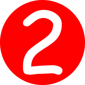 Number 2 Clipart Red Roundedwith Number 2 Clip Art At Clker