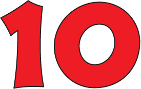 number 10 clipart - Number 10 Clipart