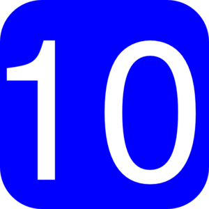 Number 10 Clipart-number 10 clipart-5