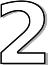 number 2 clipart