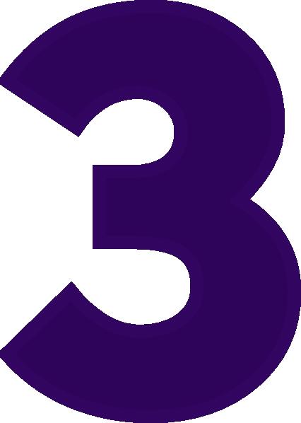 Number 3 Clip Art At Clker Com Vector Clip Art Online Royalty Free