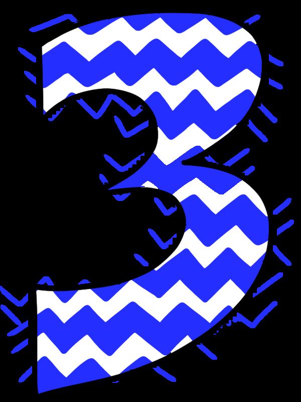 Number 3 Clip Art Clipart Best