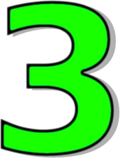 Number 3 Green Http Www Wpclipart Com Signs Symbol Alphabets