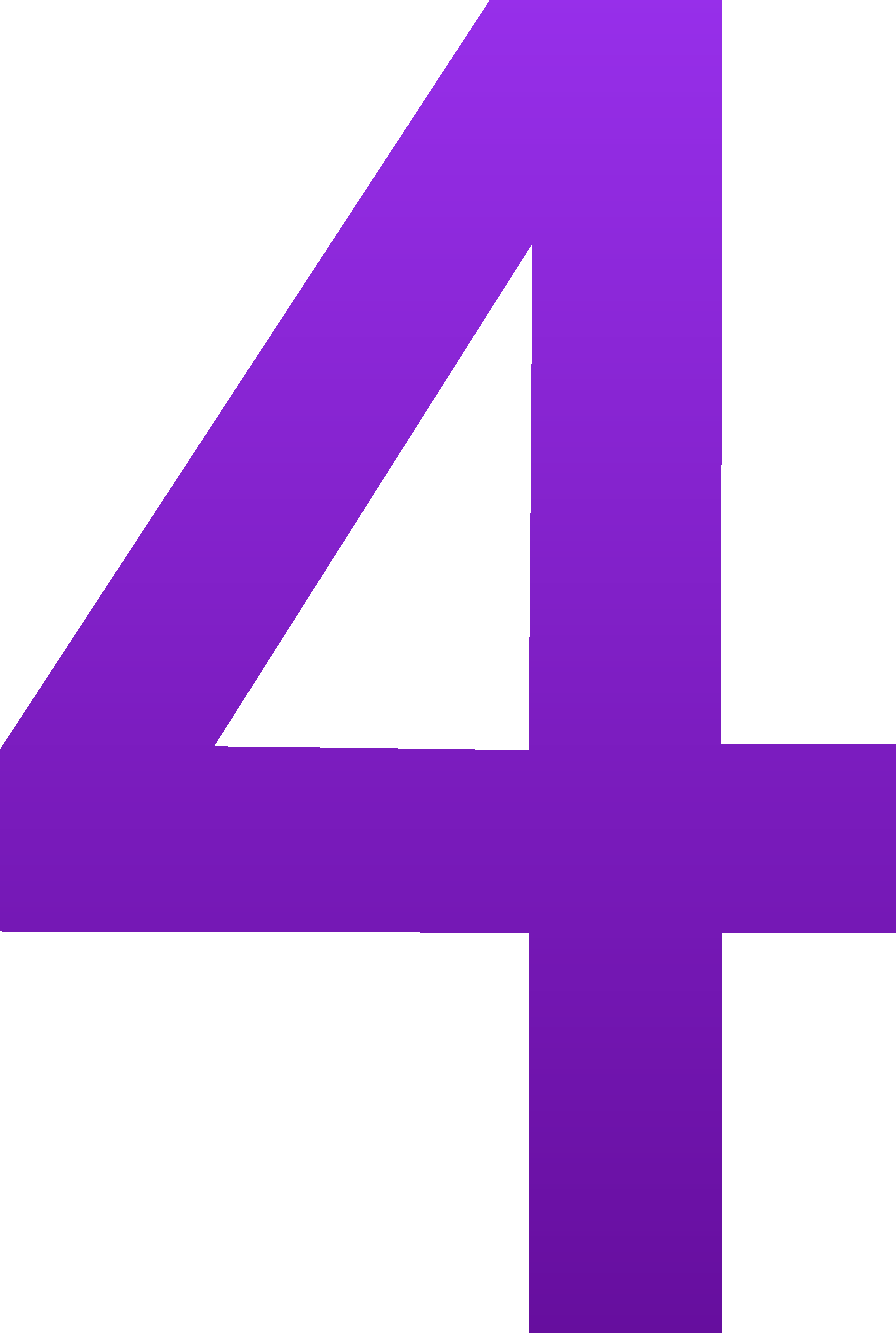 Number 4 Free Clipart