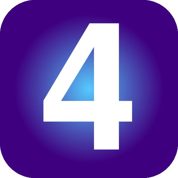 Number 4 svg - Number 4 Clipart