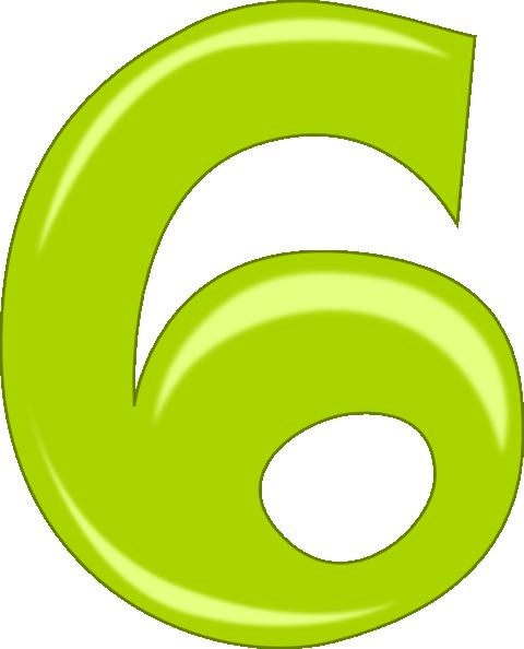 Number 6 Clip Art-Number 6 Clip Art-0